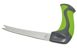 Messer mit abgewinkeltem Griff» Infos bei Amazon