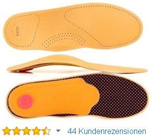Orthopädische Leder Schuheinlagen Einlagen