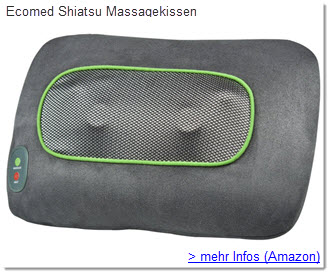 Ecomed Massagekissen