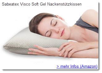 sabeatex visco Nackenstützkissen