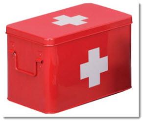 Hausapotheken Box