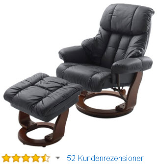 fernsehsessel mit massage heizung und liegefunktion kunstleder braun smash. Black Bedroom Furniture Sets. Home Design Ideas