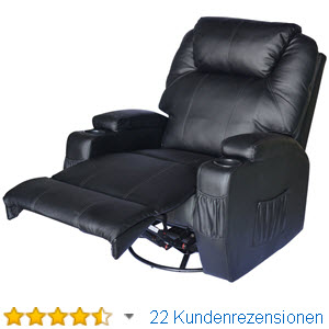 massagesessel elektrisch verstellbar bestseller shop f r m bel und einrichtungen. Black Bedroom Furniture Sets. Home Design Ideas