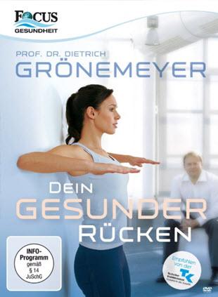 DVD empfehlung für Wirbelsäulengymnastik Prof. Dr. Grönemeyer - Dein Gesunder Rücken