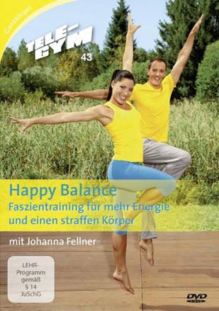 TELE-GYM 43 Happy Balance Faszientraining für mehr Energie & einen straffen Körper