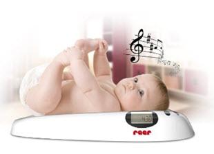 Reer Baby Waage mit Musik