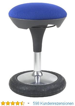 Schreibtischstuhl ergonomisch test  Ergonomischer Bürostuhl Test