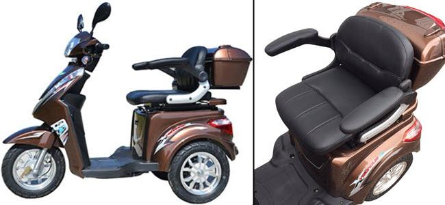 3 Rad Elektromobil eScooter Seniorenfahrzeug von ECO Engel
