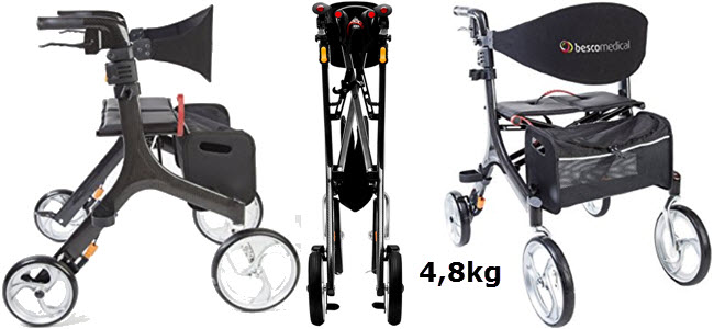 rollator test welcher rollator ist der beste alle. Black Bedroom Furniture Sets. Home Design Ideas