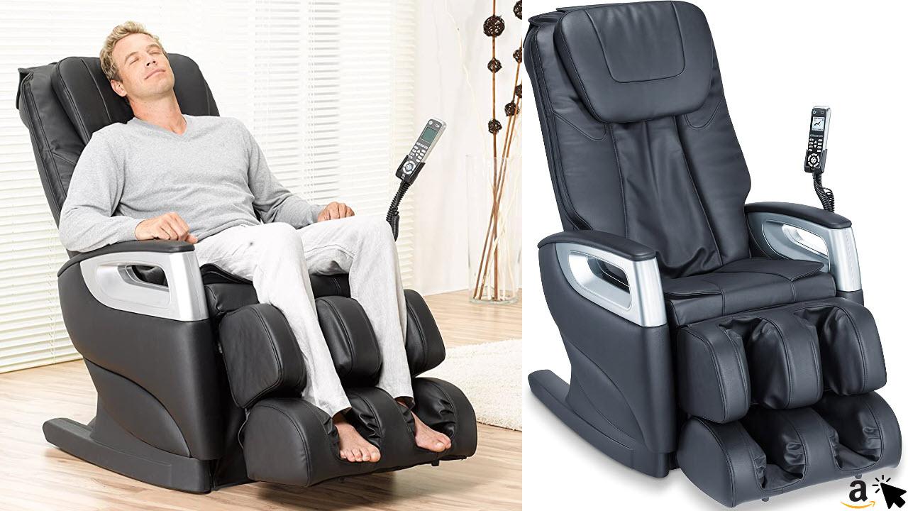 Beurer MC 5000 Deluxe Massagesessel mit Körper-Scan Funktion, Fußmassage, Liegefunktion, Ganzkörpermassage, 5 Massagearten