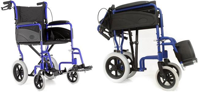 Dash Express 10,4kg ultraleichter faltbarer Reise-Transport-Rollstuhl