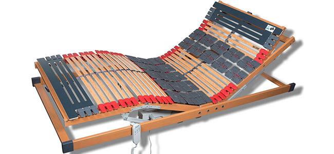 FMP Matratzenmanufaktur 7 Zonen Teller Lattenrost elektrisch verstellbar