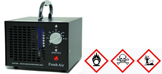 Fresh Air Ozonisator Ozon Luftreiniger