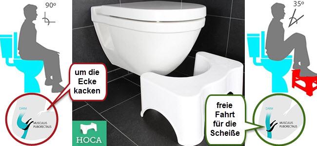HOCA medizinischer Toilettenhocker