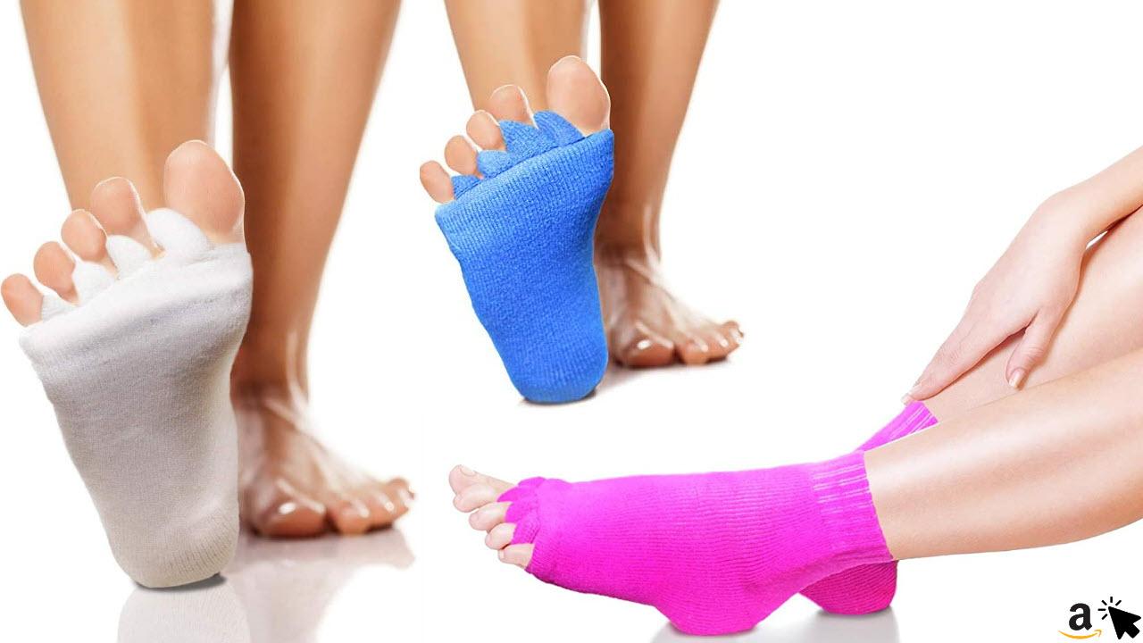 High Pulse Zehenspreizer Socken sanfte Entspannung bei Hallux Valgus und Zehenfehlstellungen