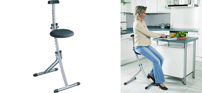 Leifheit Multisitz Niveau Sitzhilfe Stehhilfe