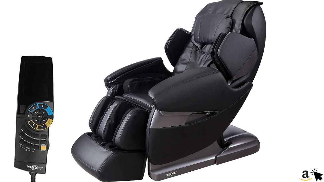 MAXXUS Massagesessel mit Liegefunktion MX 20 mit 3D Massage und Zero-Wall Funktion