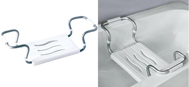 MSV Badewannensitz Duschsitz belastbar bis 150kg ausziehbar