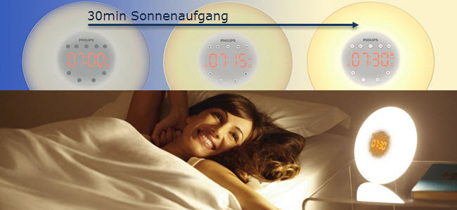 Philips Wake-up Light LED Lichtwecker