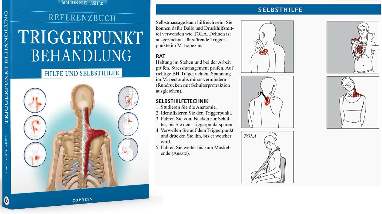 Referenzbuch Triggerpunkt Behandlung - Hilfe und Selbsthilfe. Triggerpunkte finden und lösen.