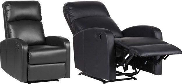 SVITA Relaxsessel Fernsehsessel Ruhesessel mit LiegeFunktion