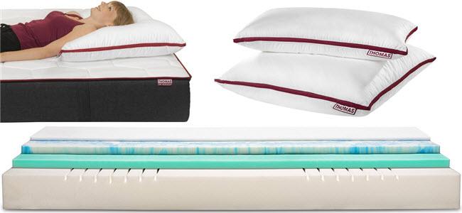 Thomas die Matratze & Kissen Schlafsystem